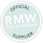 Rock My Wedding Kiss Of Approval logo