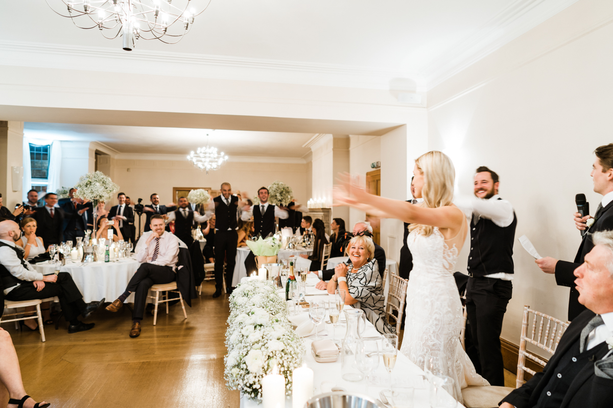 Coombe Lodge Winter Wedding South Wales Wedding Photographer